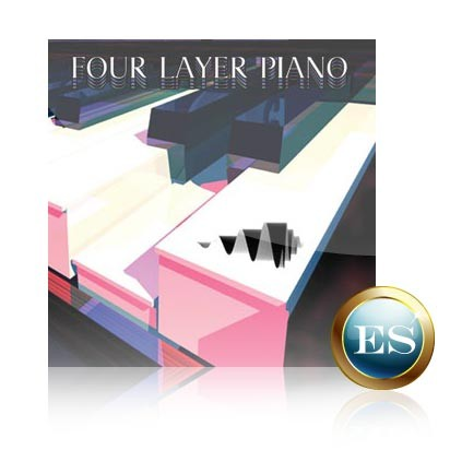 Four Layer Piano Voice Bank for Motif ES