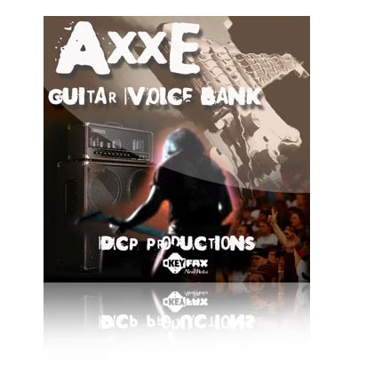 Axxe - Guitar Voice Bank for Yamaha Motif ES/Rack ES/MO