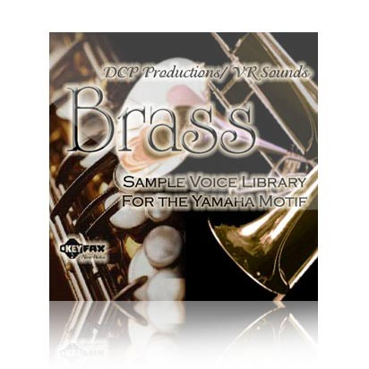 Brass - Voice Bank for Yamaha Motif ES/Classic