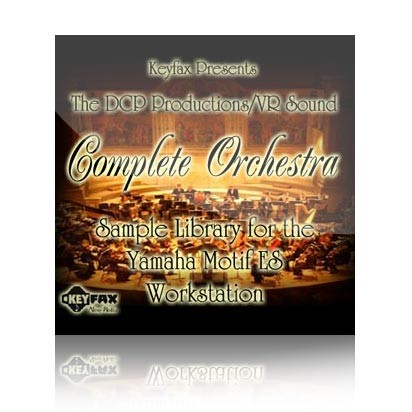 Complete Orchestra - Voice Bank for Yamaha Motif ES