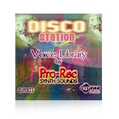 Disco Station - Voice Bank for Yamaha Classic/Motif ES/Rack/Rack ES/MO6/MO8