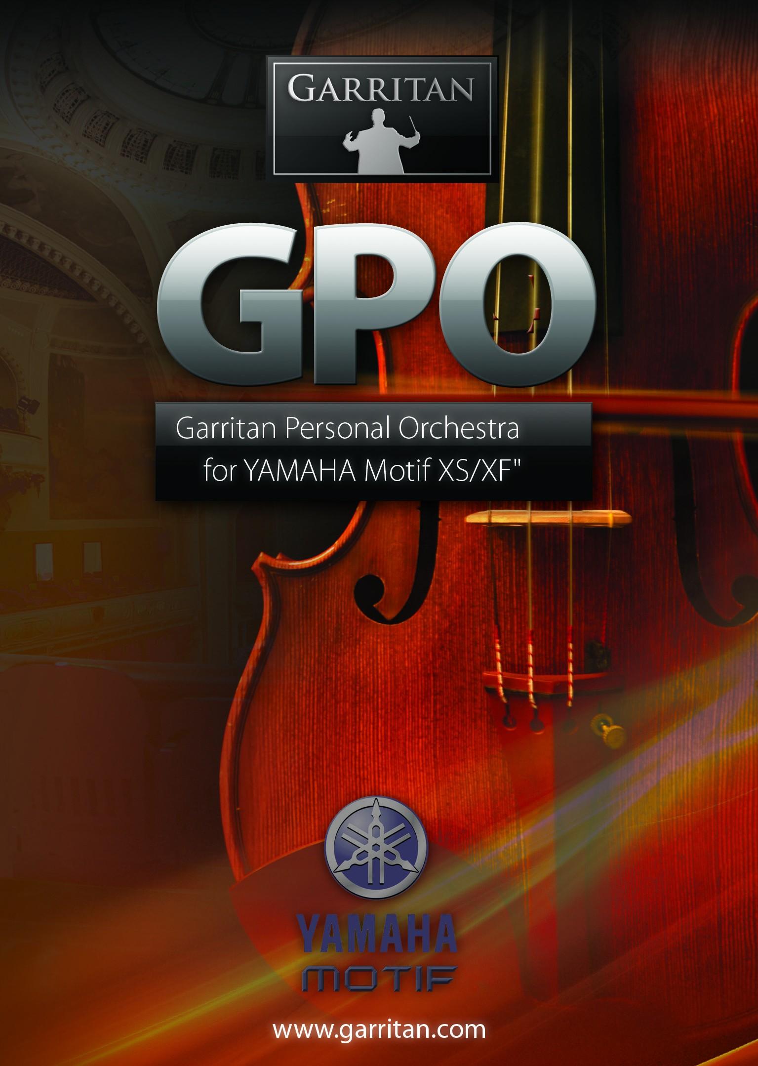 Garritan GPO Lite For Motif XS/XF