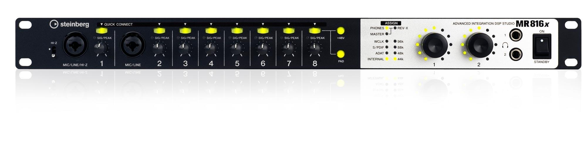 MR816 X Advanced Integration DSP Studio