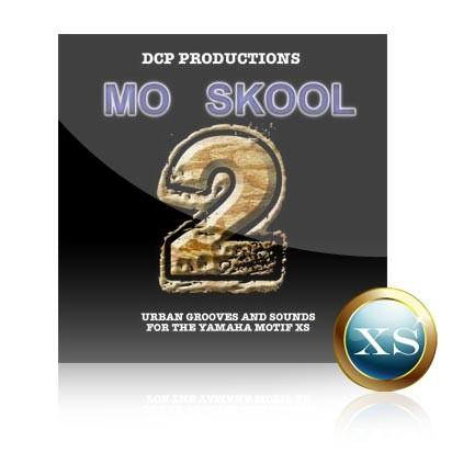 Mo Skool 2 - Voice Bank for Yamaha Motif XS