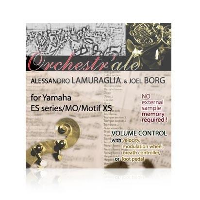 Orchestr'ale - Voice Bank for Yamaha Motif ES/Rack ES/MO6/MO8/Motif
