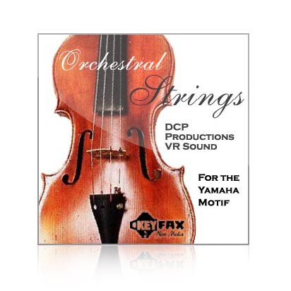 Orchestral Strings - Voice Bank for Yamaha Classic/Motif ES