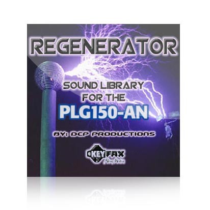 Regenerator - Voice Bank for use with the PLG150AN