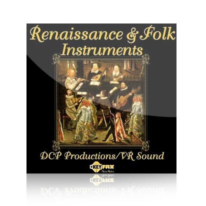 Renaissance & Folk Instruments - Voice Bank for Yamaha Motif ES