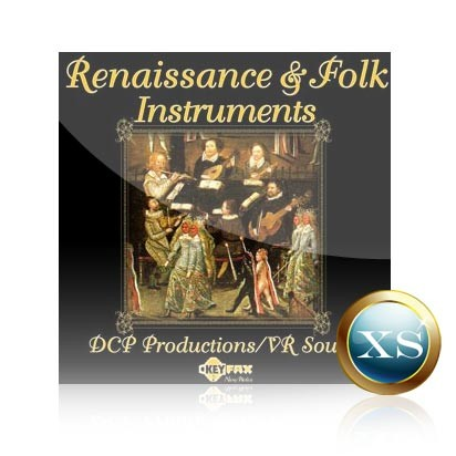 Renaissance & Folk Instruments - Voice Bank for Yamaha Motif XS