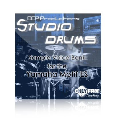 Studio Drums - Voice Bank for Yamaha Motif ES