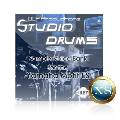 Studio Drums - Voice Bank for Yamaha Motif XS