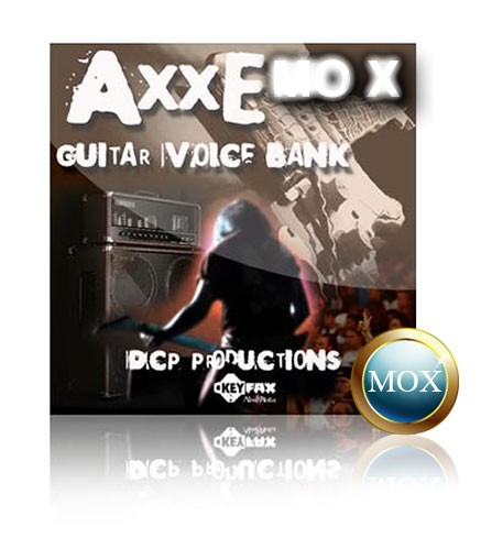 AXXE - Voice Bank for Yamaha Motif MOX