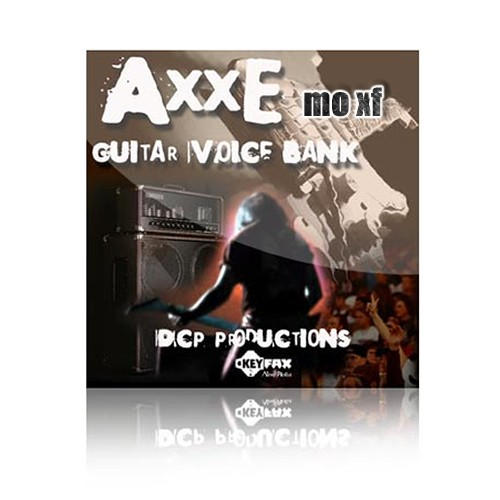 AXXE - Voice Bank for Yamaha Motif MOXF