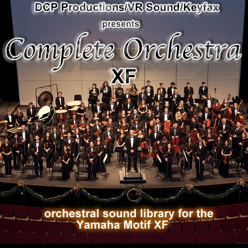 Complete Orchestra - Voice Bank For Yamaha Motif XF