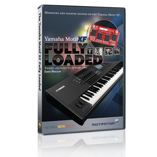 Yamaha Motif XF Fully Loaded - DVD