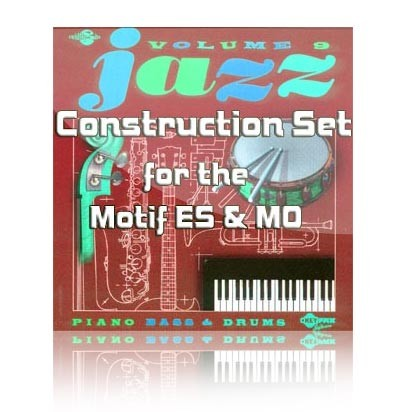 Jazz 9 Construction Set for Motif ES/MO6/MO8