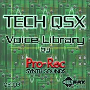 Pro-Rec Synth Sounds - Tech QSX for S90ES