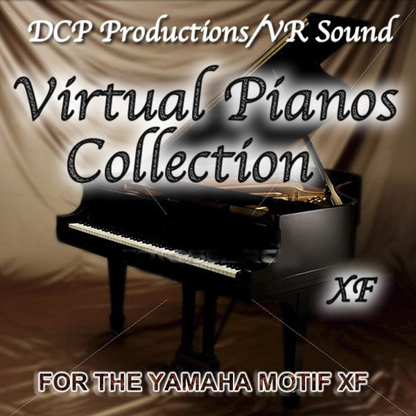 Virtual Pianos Collection for the Motif XF