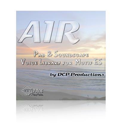 Air  - Voice Bank  for Yamaha Motif ES/MO