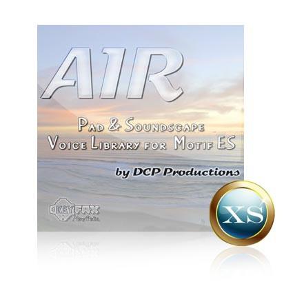 Air - Voice Bank for Yamaha Motif XS