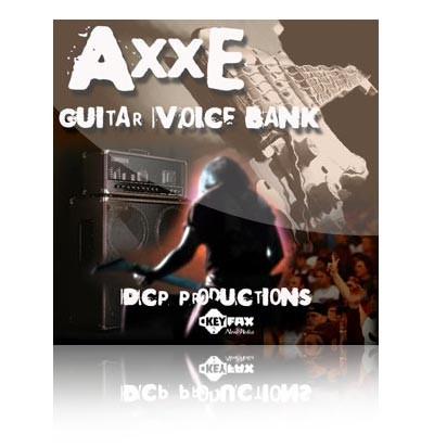Axxe - Guitar Voice Bank for Yamaha Motif ES/Rack ES/MO