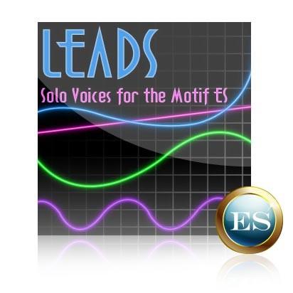 Leads - Voice Bank for Yamaha Motif ES