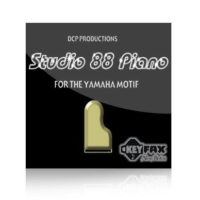 Studio 88 Piano - Voice Bank for Yamaha Classic/Motif ES