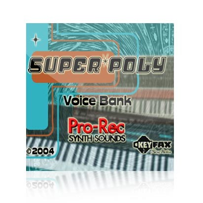 Super Poly - Voice Bank for Yamaha Classic/Motif ES/Rack/Rack ES/MO6/MO8
