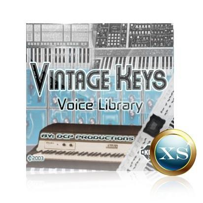 Vintage Keys - Voice Bank for Yamaha Motif XS