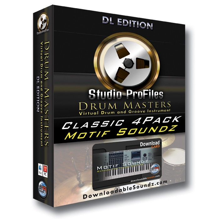 Sonic Reality Drum Masters XS Classic Kits 4 Pack