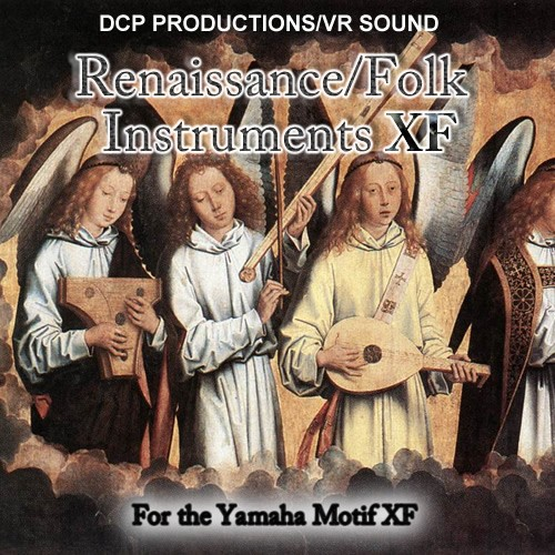 Renaissance & Folk Instruments - Voice Bank for Yamaha Motif XF