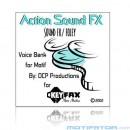 Action Sound FX Foley  - Voice Bank for Yamaha Motif ES/Classic